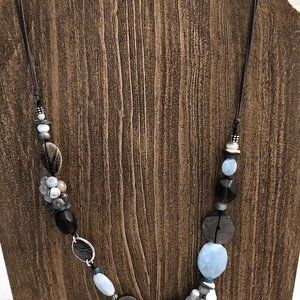 Silpada Shell and Stones Necklace